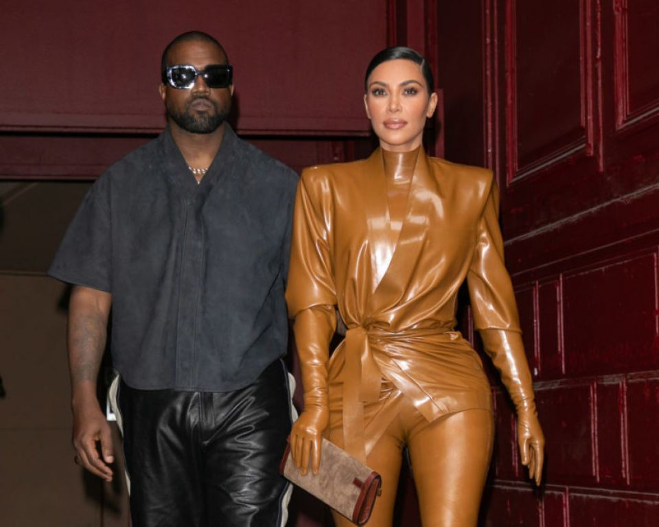 kany west and Kim Kardashian-West