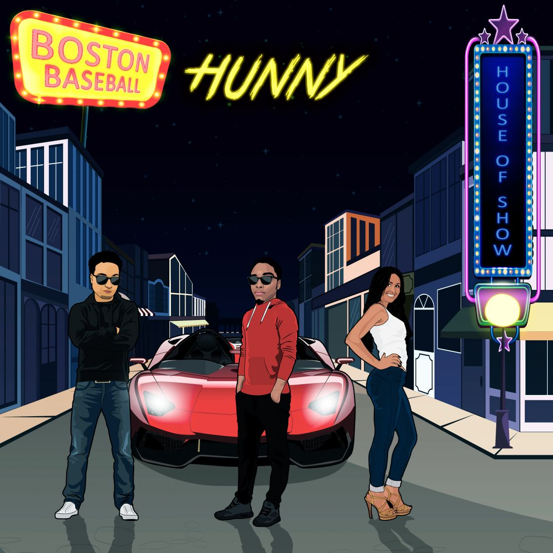 "The new single  for B.T the Artist is ""Hunny""."